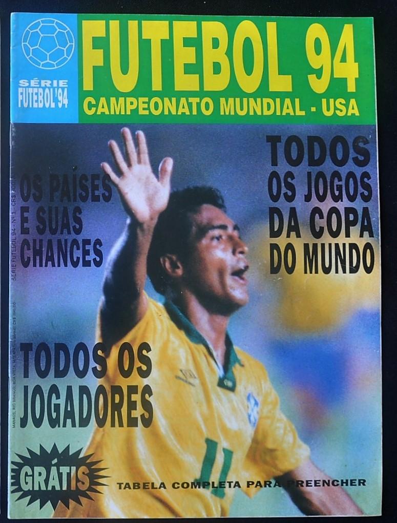 d1bba9bd288df Copa do Mundo 1994 - Revista Futebol 94 Campeonato Mund