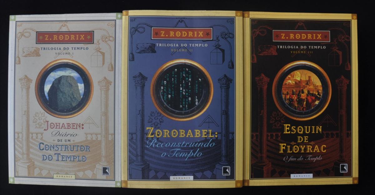 Coleção Trilogia do Tempo, de Zé Rodrix. Todos os volum