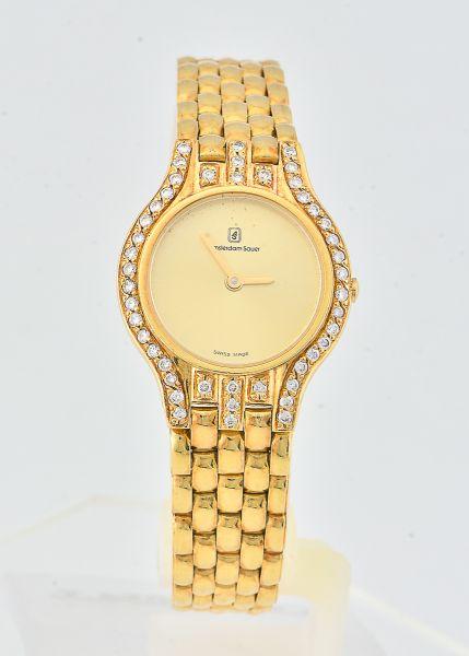 41c80852a1c Amsterdam Sauer relógio feminino em ouro 750
