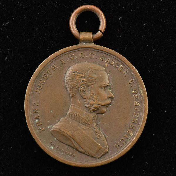 Numismática: Medalha, Império Austro- Hungaro - Bravura