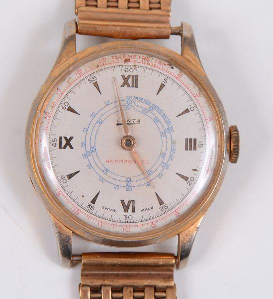 3aca8b50ab8 Relógio de pulso LANTA com disparador de segundeiro