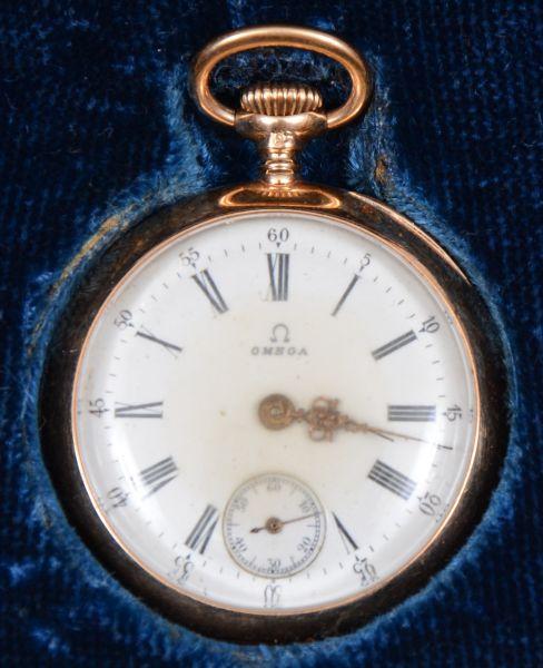 e0b4df9b14b Omega - antigo relógio de pulso masculino com caixa em