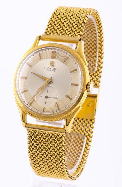 915ed76a31c Relógio de pulso masculino em ouro 18 K da década de 50 contrastado da  marca