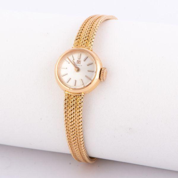 65211784927 Relógio de pulso feminino em ouro 750 ml contrastado da marca