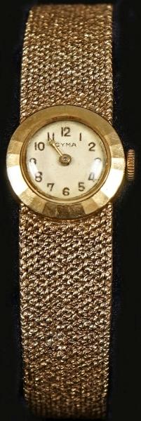 38cd89918ff Relógio de pulso feminino da década de 50 da marca