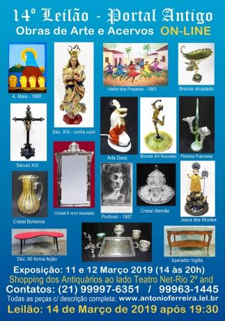 14º Leilão do Portal Antigo - Obras de Arte e Coleções -  Somente On Line