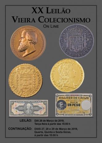 XX Leilão Vieira Colecionismo - On Line