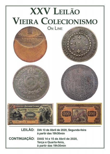 XXV Leilão Vieira Colecionismo - On Line
