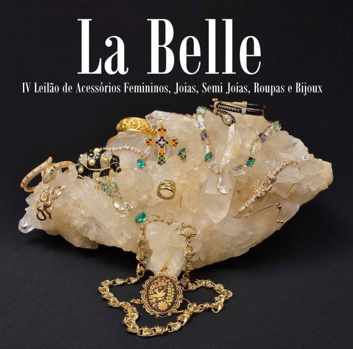 Leilão La Belle - IV Leilão de Acessórios Femininos, Joias, Semi Joias, Roupas e Bijoux