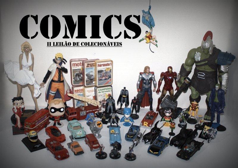 COMICS - II Leilão de Colecionáveis - Ed. Especial: Cavaleiro das Trevas - Repleto de itens BATMAN!