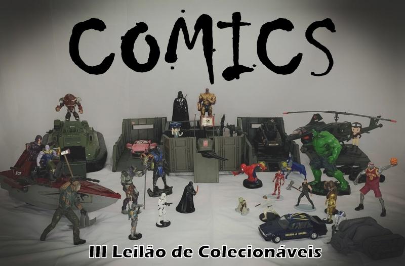 COMICS - III Leilão de Colecionáveis