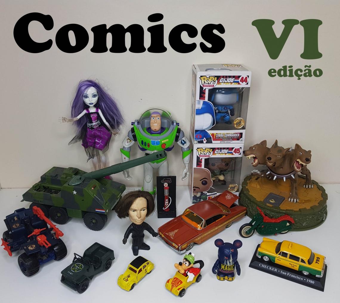 COMICS - VI Leilão de Colecionáveis